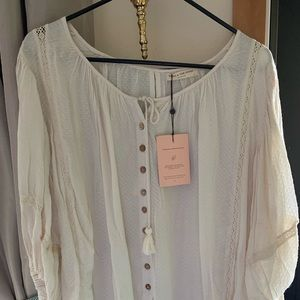 Spell and the gypsy Lotti Botanical dyed Blouse S